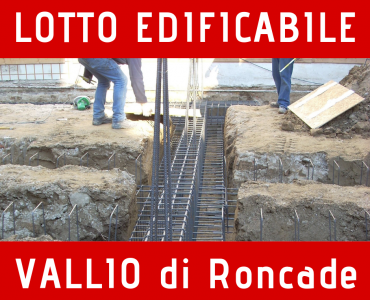 Lotto edificabile a Vallio Roncade